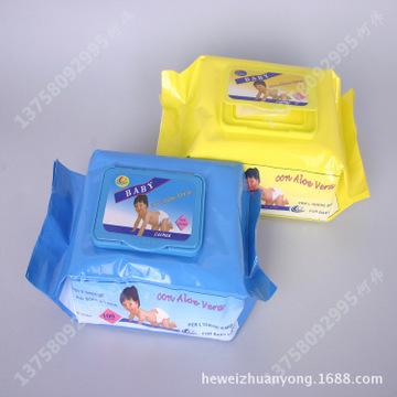 袋装清洁湿巾生产厂家 新价供应多规格出口袋装清洁湿巾