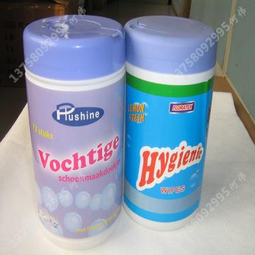 消毒湿巾生产厂家 定做多种桶装袋装消毒洁湿巾